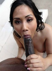 Hot asian wife try..