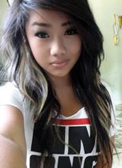 Peluda cuna asiática mujeres